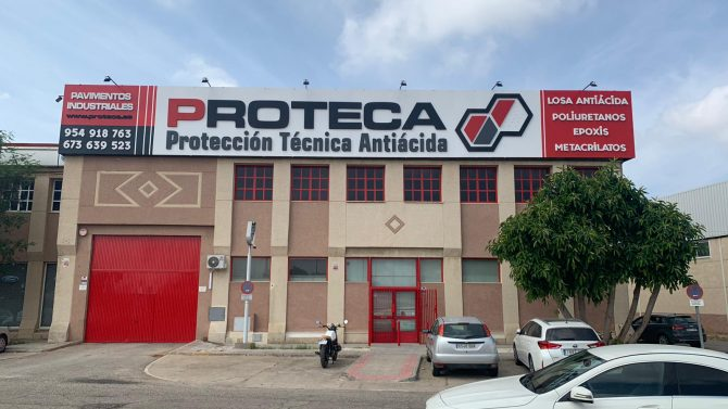 Inerzia Asesora A Proteca Hardstone En El Alquiler De Una Nave En El Polígono Los Merinales De Sevilla