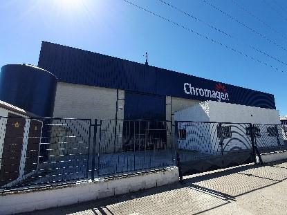 INERZIA Asesora A La Empresa Chromagen En El Alquiler De Una Nave Industrial De Más De 3.600 M2 En P. I. La Red